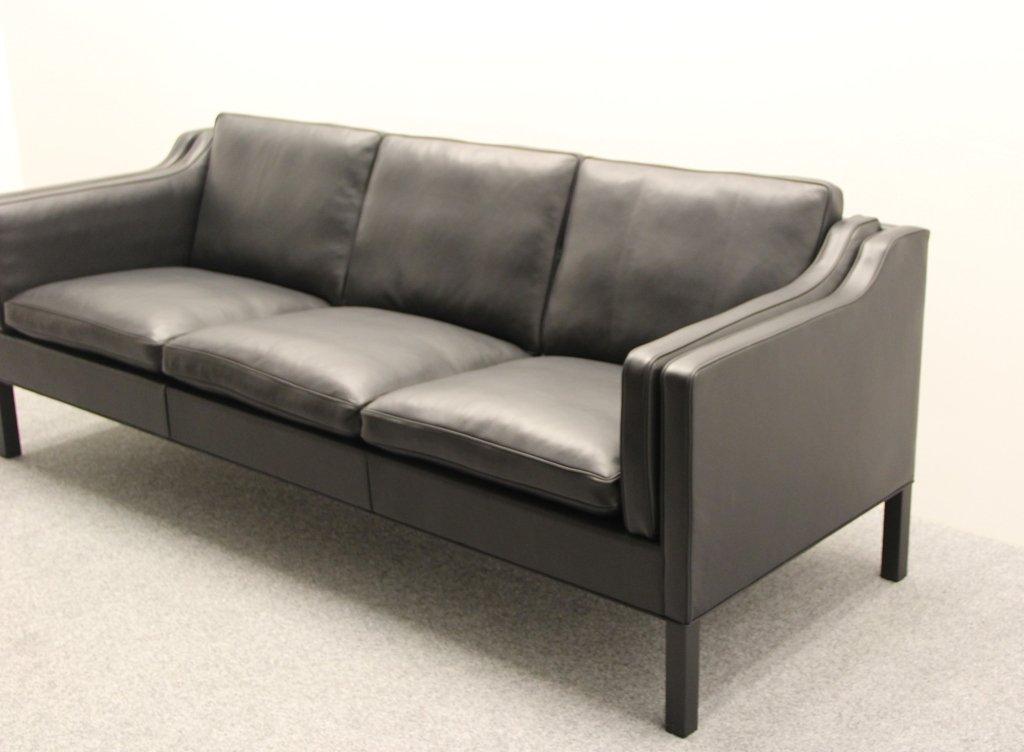bm 2213 sofa von b rge mogensen f r fredericia stolefabrik. Black Bedroom Furniture Sets. Home Design Ideas