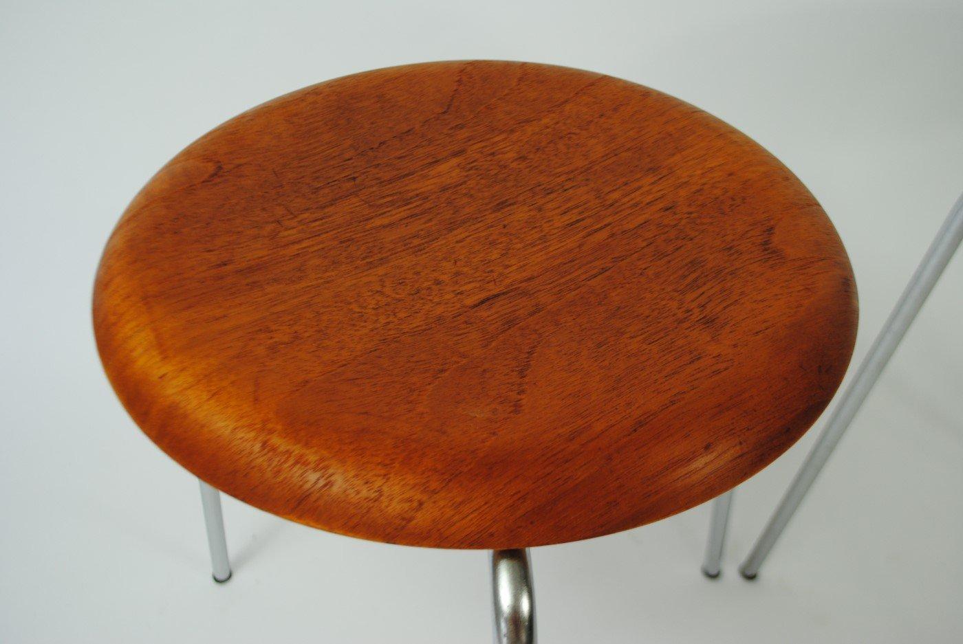 Dot Stool By Arne Jacobsen For Fritz Hansen 1954 For Sale