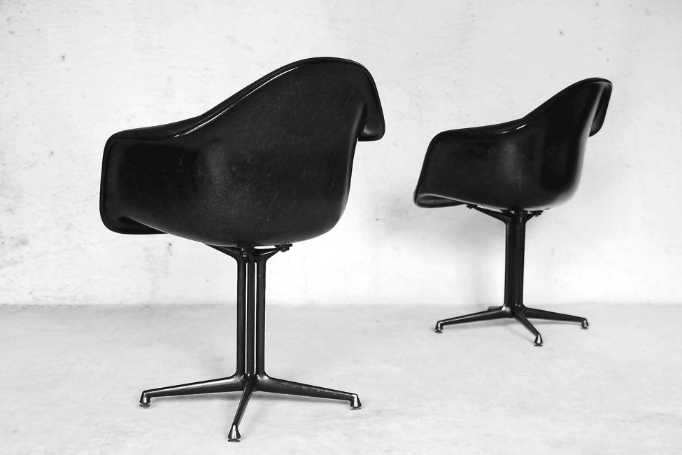 la fonda st hle von charles ray eames f r herman miller 1960er 2er set bei pamono kaufen. Black Bedroom Furniture Sets. Home Design Ideas