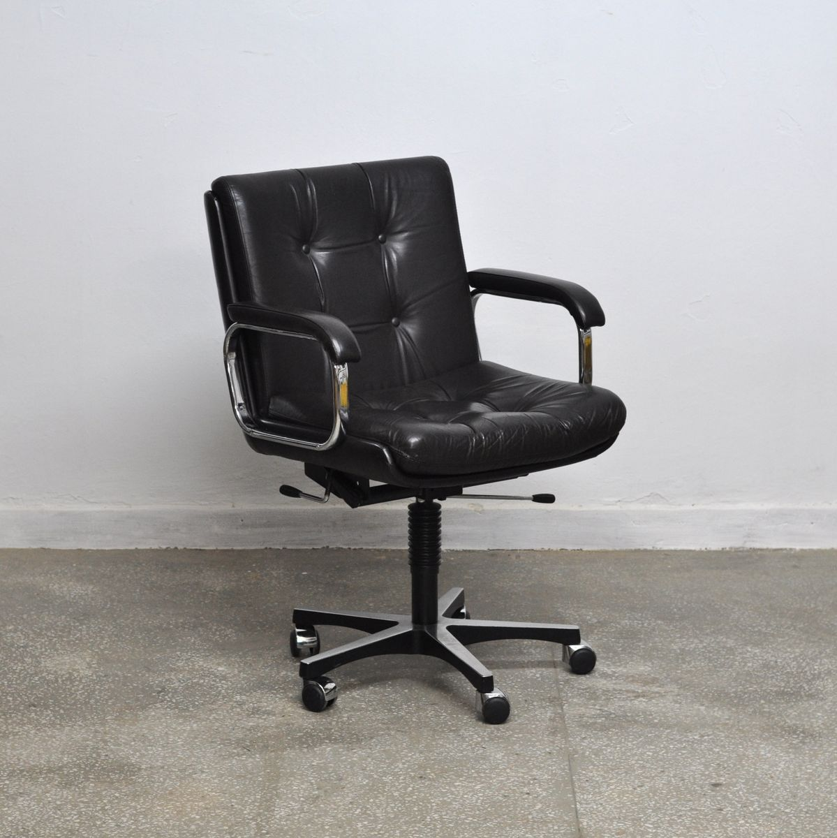 norwegian vintage office chair. Vintage Norwegian Office Chair From Ring Mekanikk T
