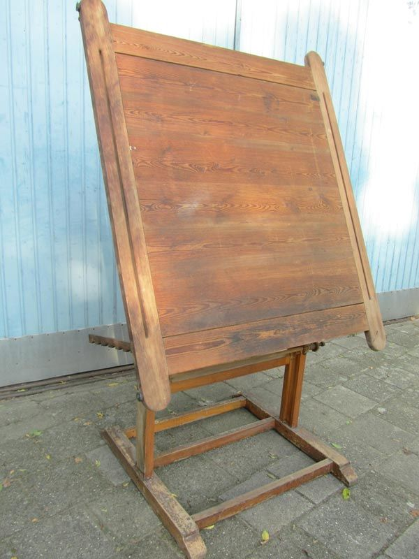 Industrial Drafting Table 1900s For Sale At Pamono