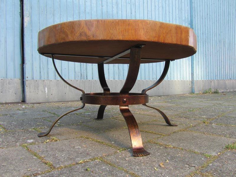 table basse tronc d 39 arbre vintage en vente sur pamono. Black Bedroom Furniture Sets. Home Design Ideas