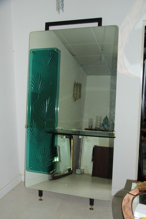 italienische spiegel konsole 1960er bei pamono kaufen. Black Bedroom Furniture Sets. Home Design Ideas