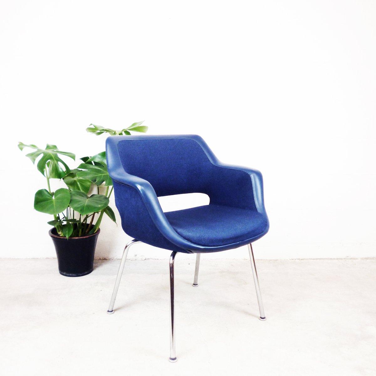 blauer vintage sessel von olli mannermaa bei pamono kaufen. Black Bedroom Furniture Sets. Home Design Ideas