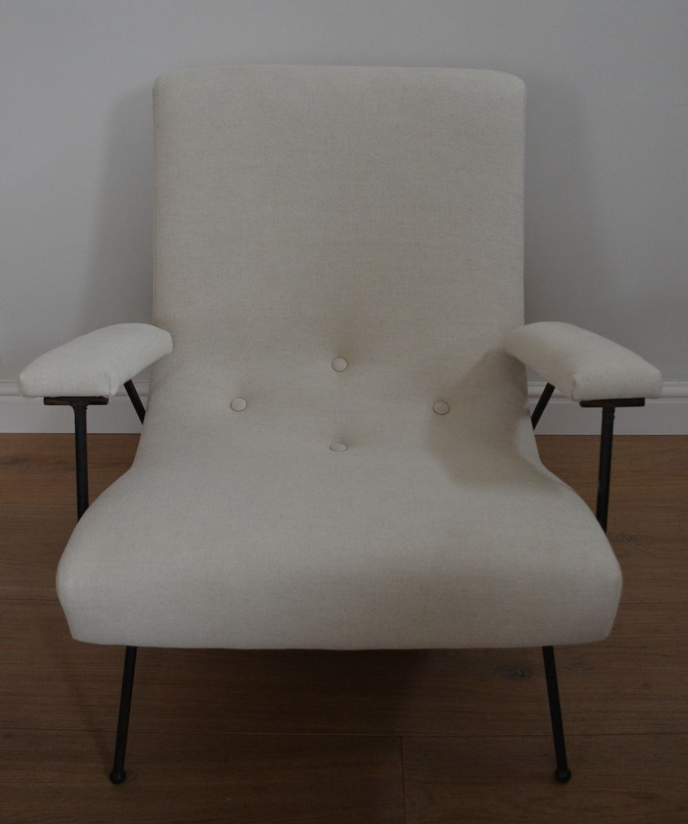 wei er sessel von adrian pearsall bei pamono kaufen. Black Bedroom Furniture Sets. Home Design Ideas