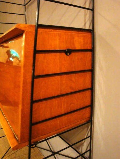 petit bureau vintage en ch ne 1950s en vente sur pamono. Black Bedroom Furniture Sets. Home Design Ideas