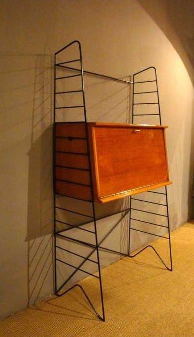 kleiner vintage sekret r frankreich 1950er bei pamono kaufen. Black Bedroom Furniture Sets. Home Design Ideas
