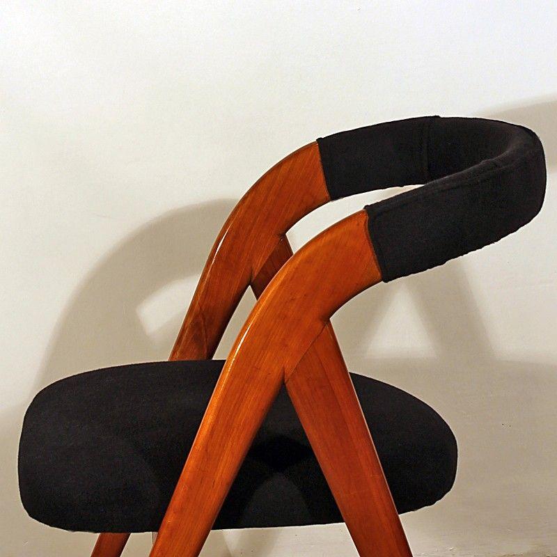 italienische vintage st hle 1950er 2er set bei pamono kaufen. Black Bedroom Furniture Sets. Home Design Ideas
