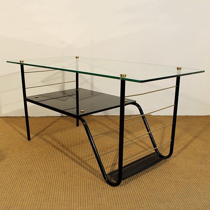 Table Basse par Pierre Guariche, 1960s en vente sur Pamono