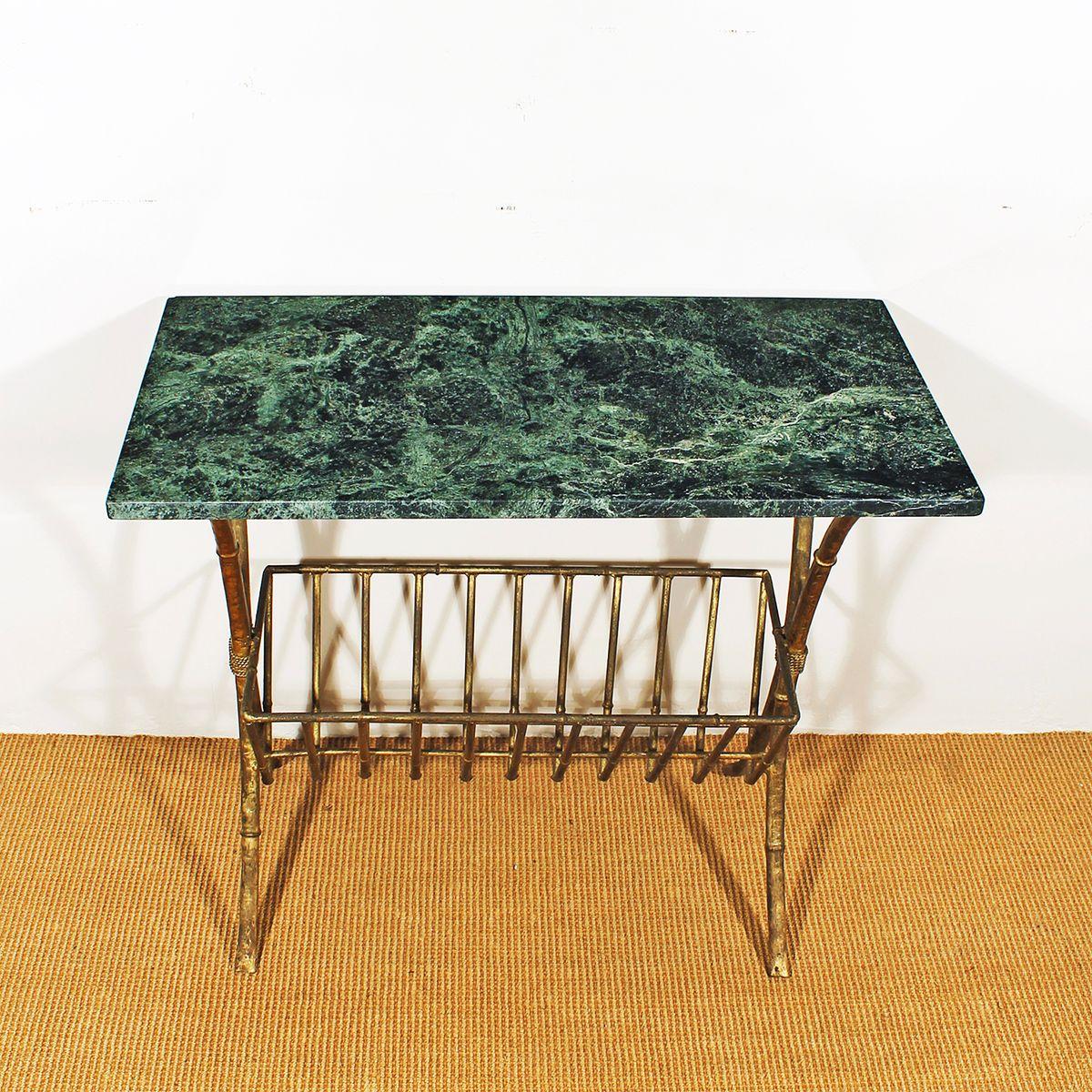 miroir et table console vintage 1950 set de 2 en vente. Black Bedroom Furniture Sets. Home Design Ideas