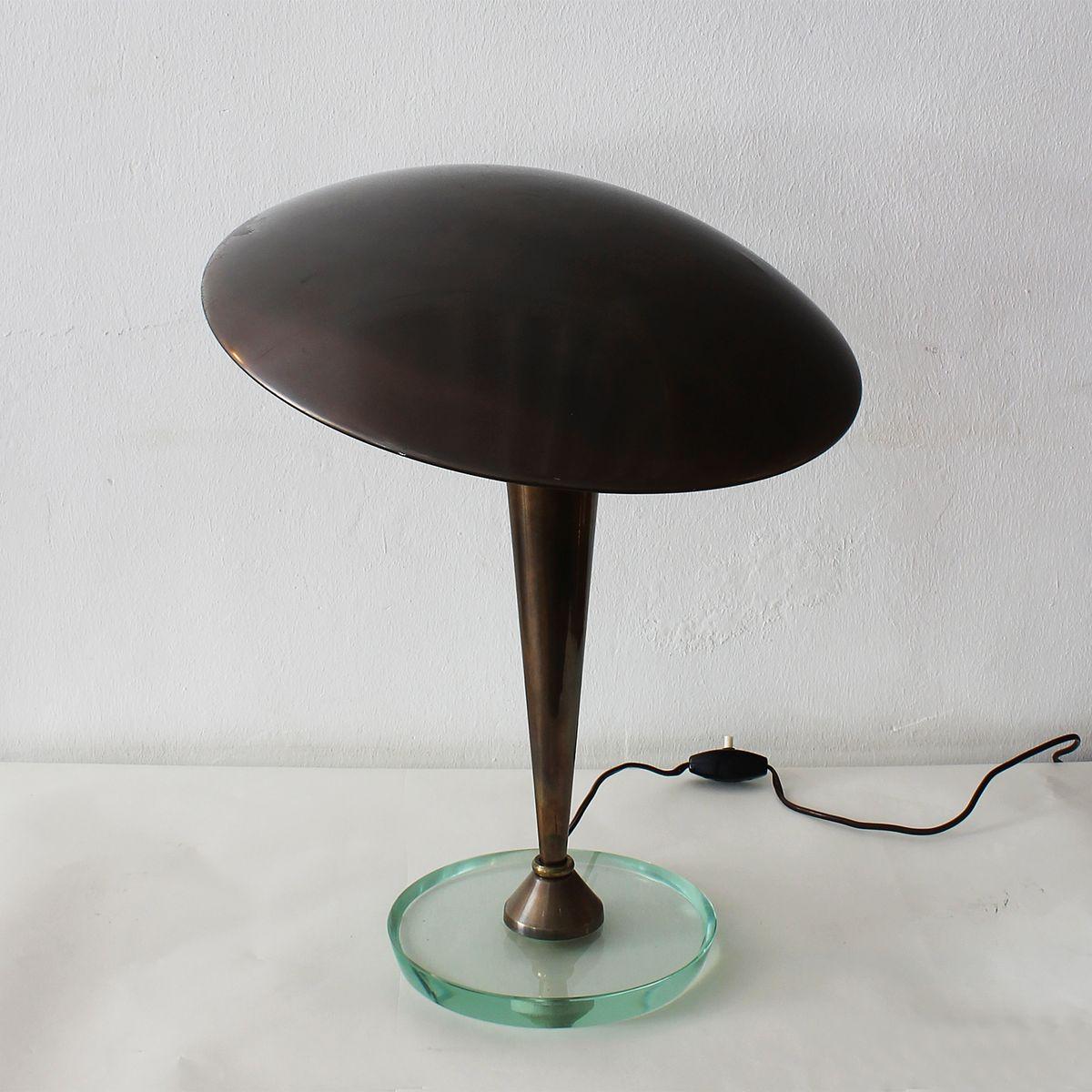 lampe de bureau art d co de stilnovo italie 1930s en vente sur pamono. Black Bedroom Furniture Sets. Home Design Ideas