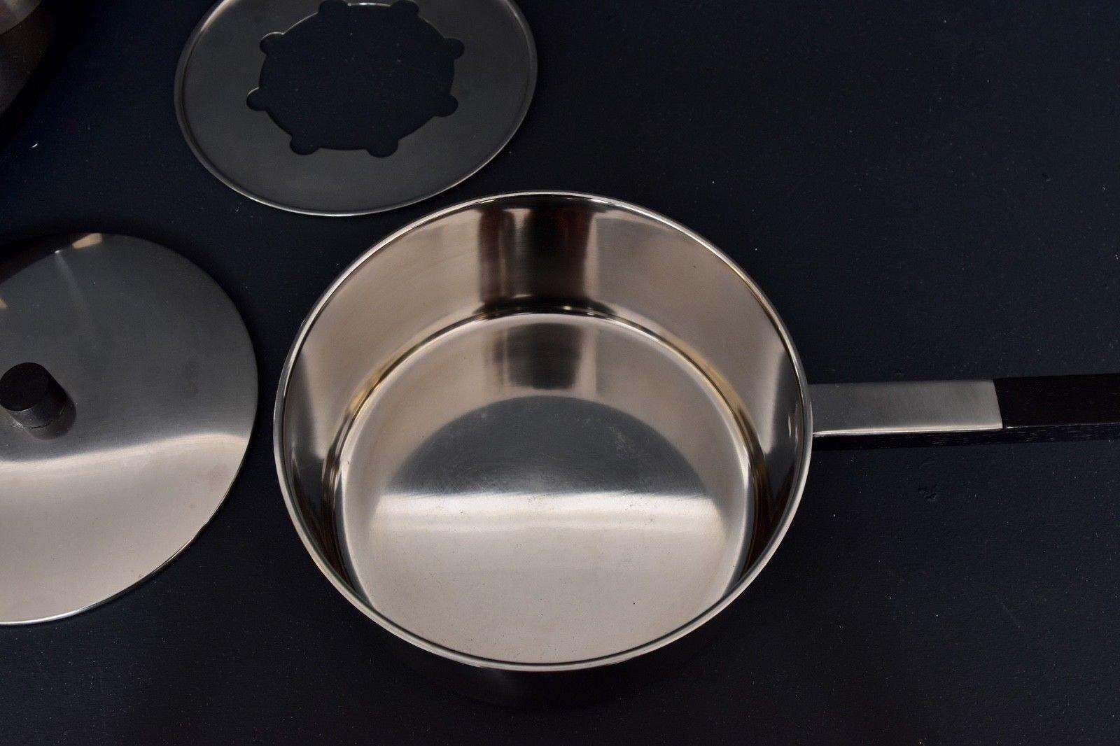 lazy susan fondue set von peter holmblad f r stelton mit gabeln von wmf 1960er bei pamono kaufen. Black Bedroom Furniture Sets. Home Design Ideas