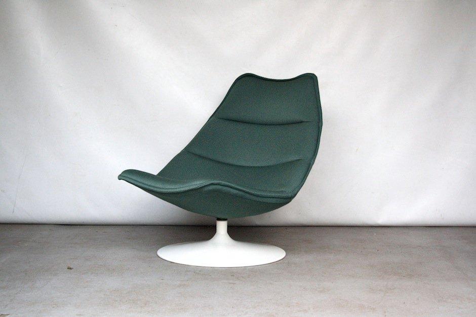 minzg ner f584 sessel von geoffrey d harcourt f r artifort bei pamono kaufen. Black Bedroom Furniture Sets. Home Design Ideas