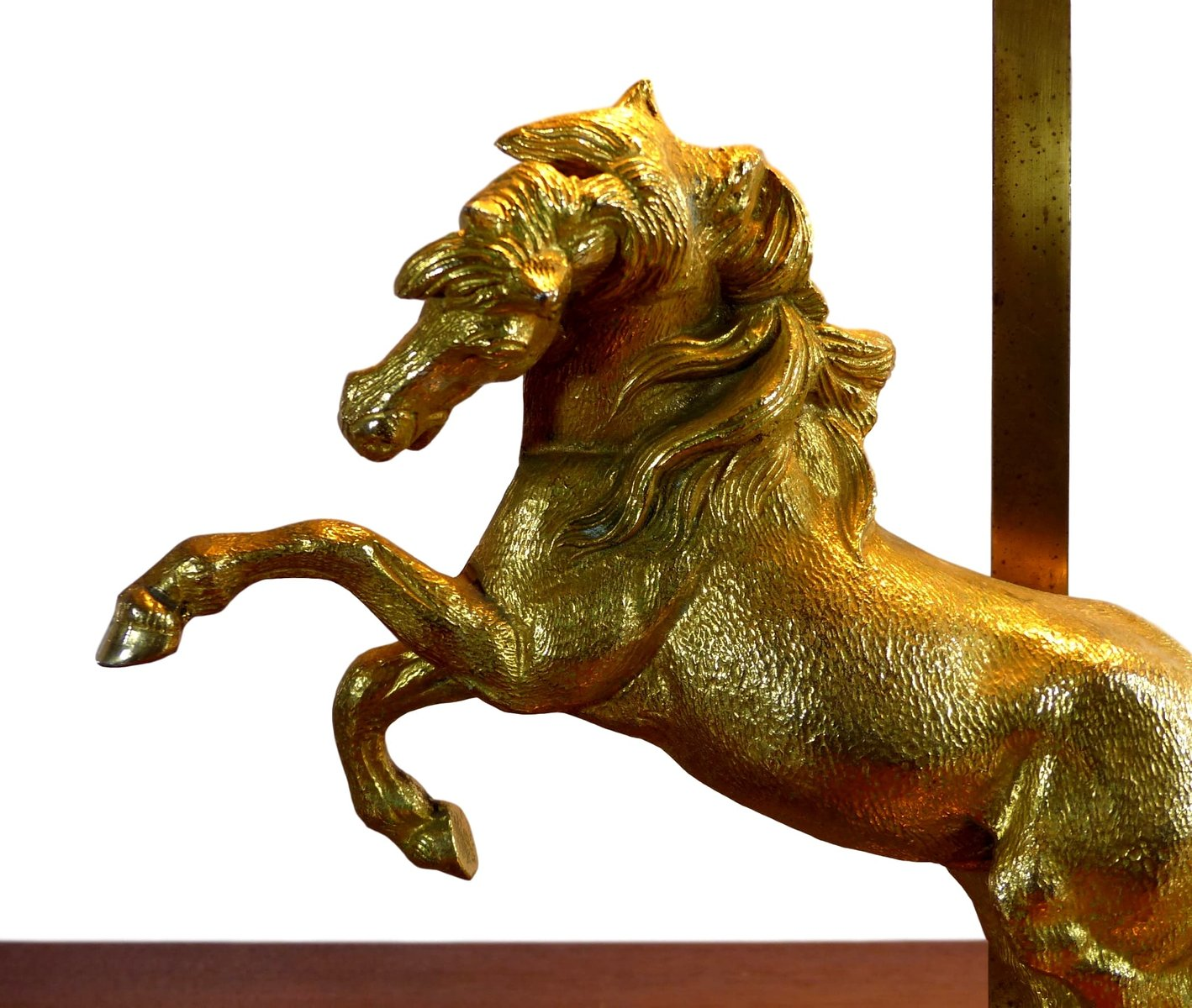 Gilded horse table lamp 1960s for sale at pamono gilded horse table lamp 1960s 6 165700 price per piece aloadofball Gallery