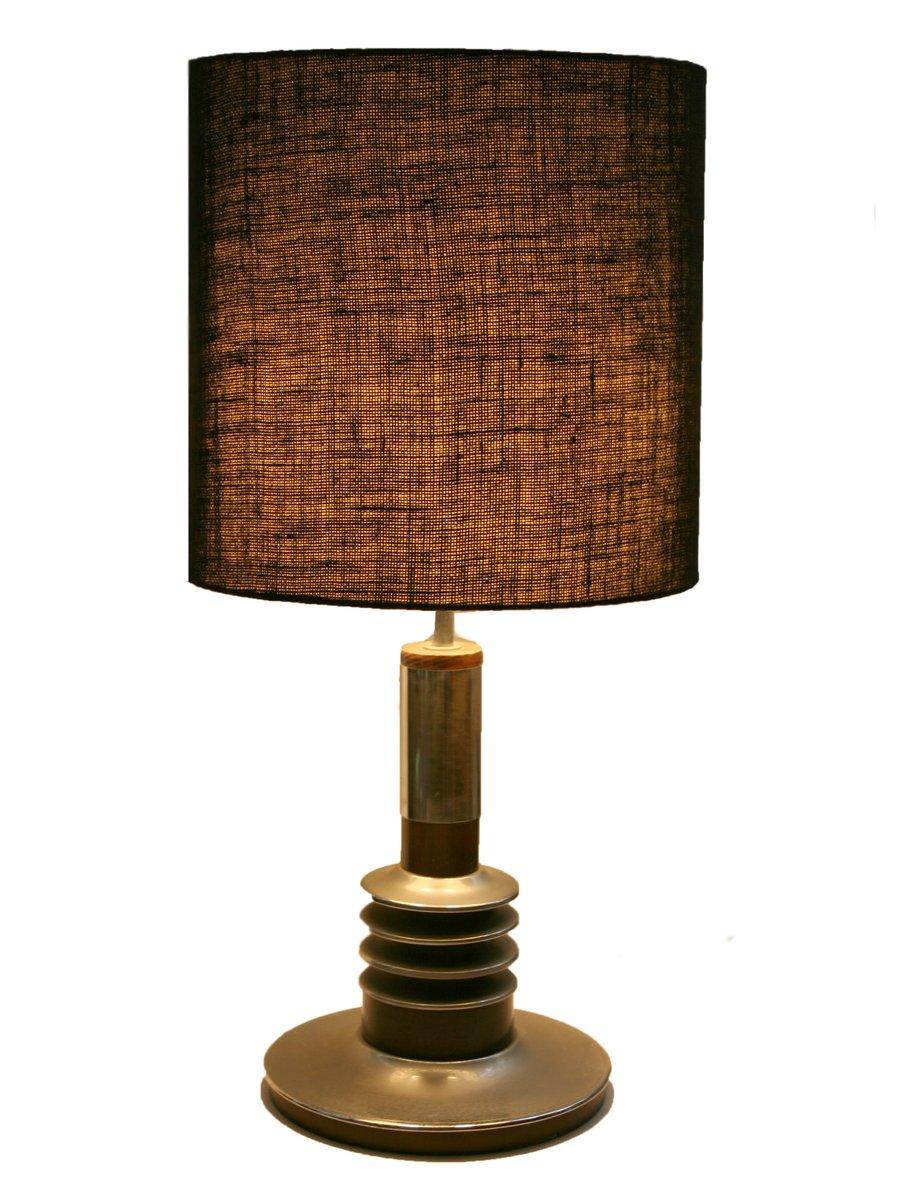 Lampe de bureau vintage noire 1970s en vente sur pamono - Lampe de bureau noire ...