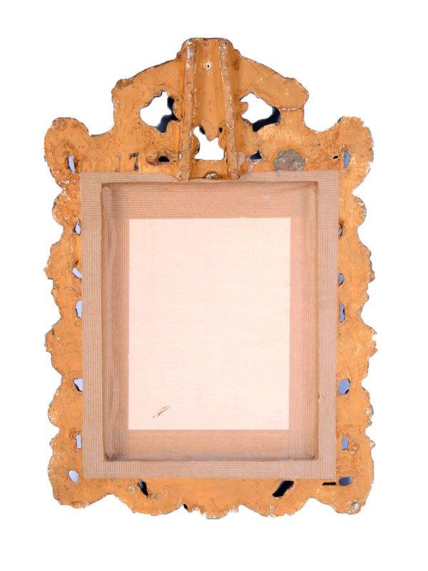 Goldener spiegel im barock stil bei pamono kaufen for Der spiegel spanien