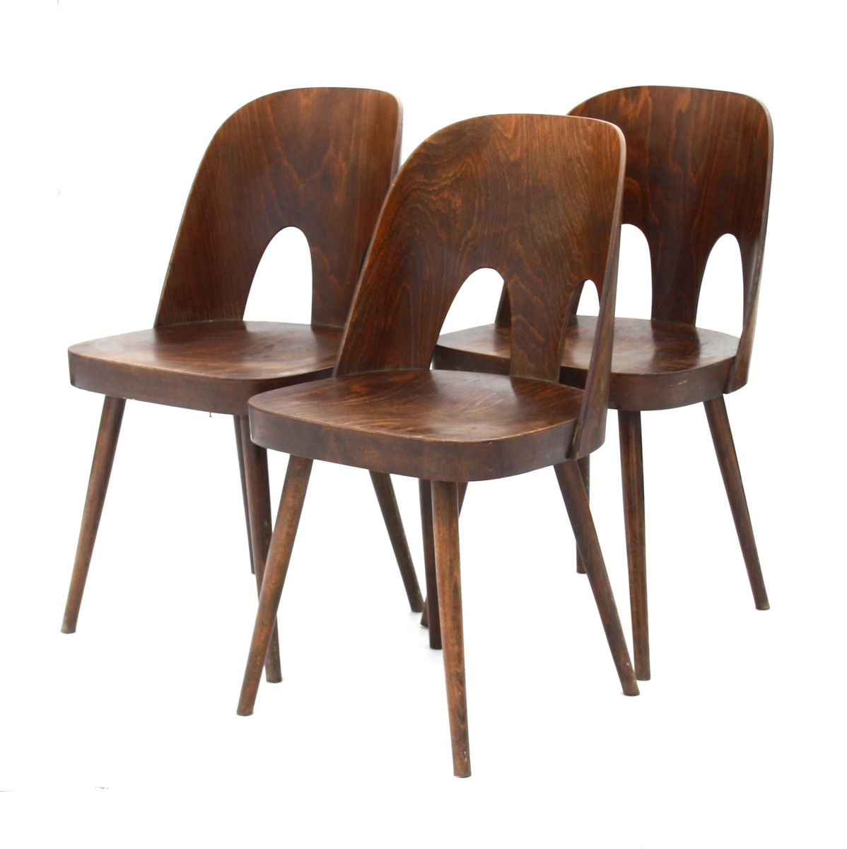 st hle von ton 1950er 3er set bei pamono kaufen. Black Bedroom Furniture Sets. Home Design Ideas