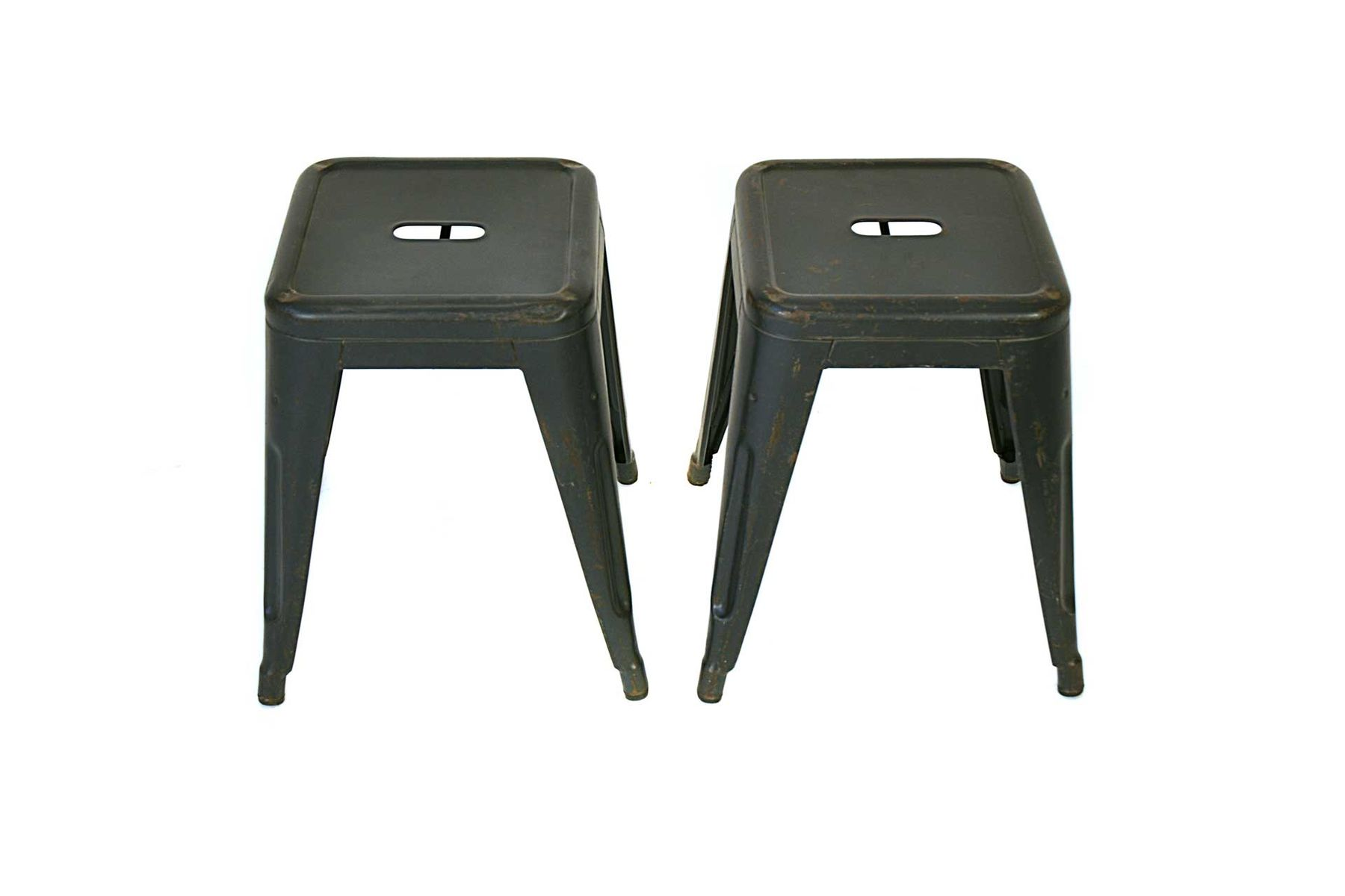 Vintage French Stool By Xavier Pauchard For Tolix For Sale