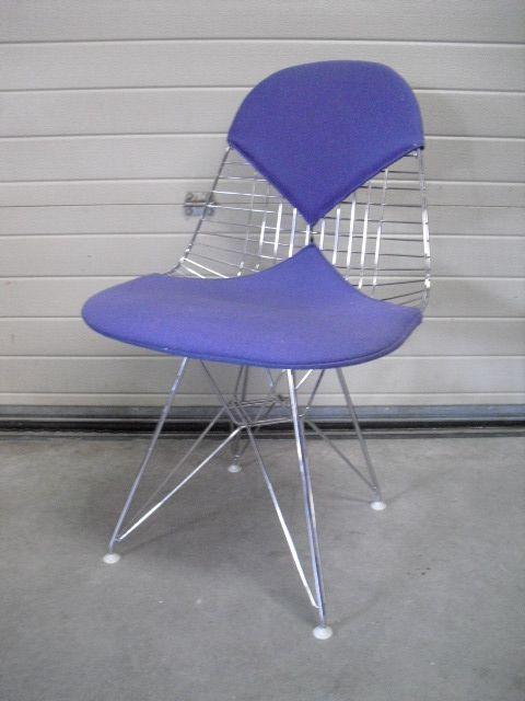 chaise bikini dkr 2 par charles et ray eames pour vitra en vente sur pamono. Black Bedroom Furniture Sets. Home Design Ideas