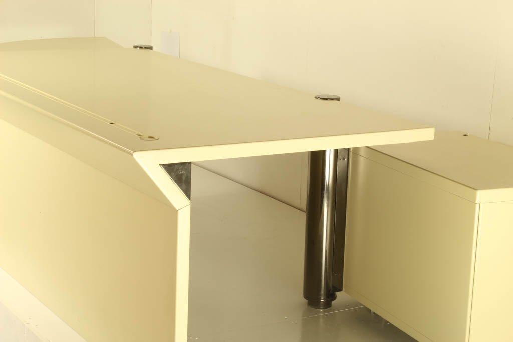 Vintage schreibtisch von f a porsche f r anonima castelli for Schreibtisch 3 meter lang
