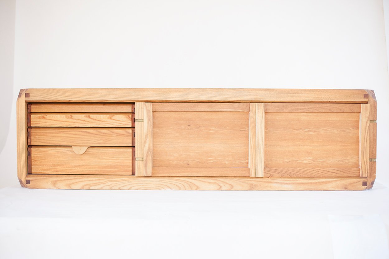B10 bel buffet by pierre chapo 1970s for sale at pamono for Sideboard 2 m lang