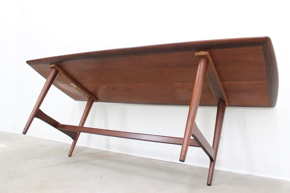 vintage large danish teak coffee table from ilse m bel for sale at pamono. Black Bedroom Furniture Sets. Home Design Ideas