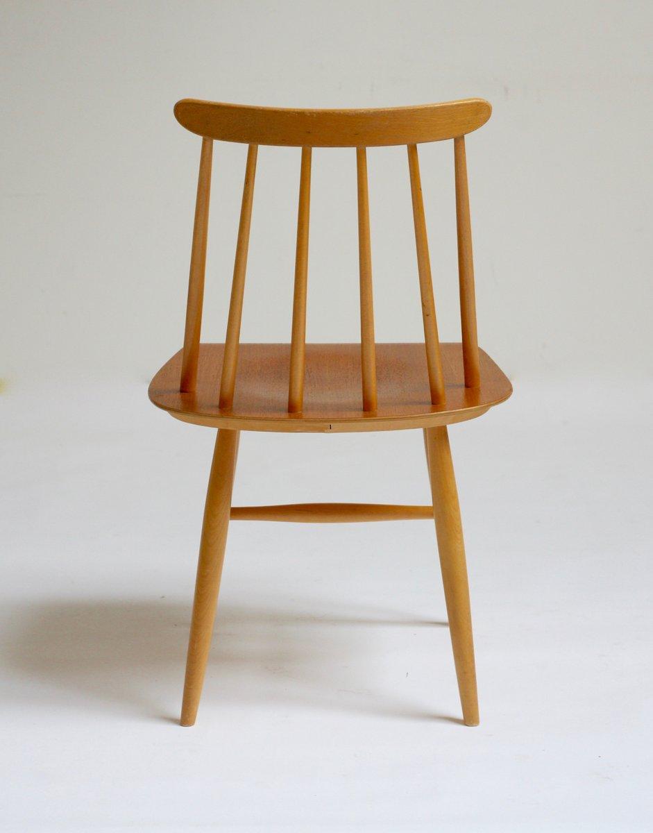 fanett stuhl von ilmari tapiovaara f r edsbyverken bei pamono kaufen. Black Bedroom Furniture Sets. Home Design Ideas