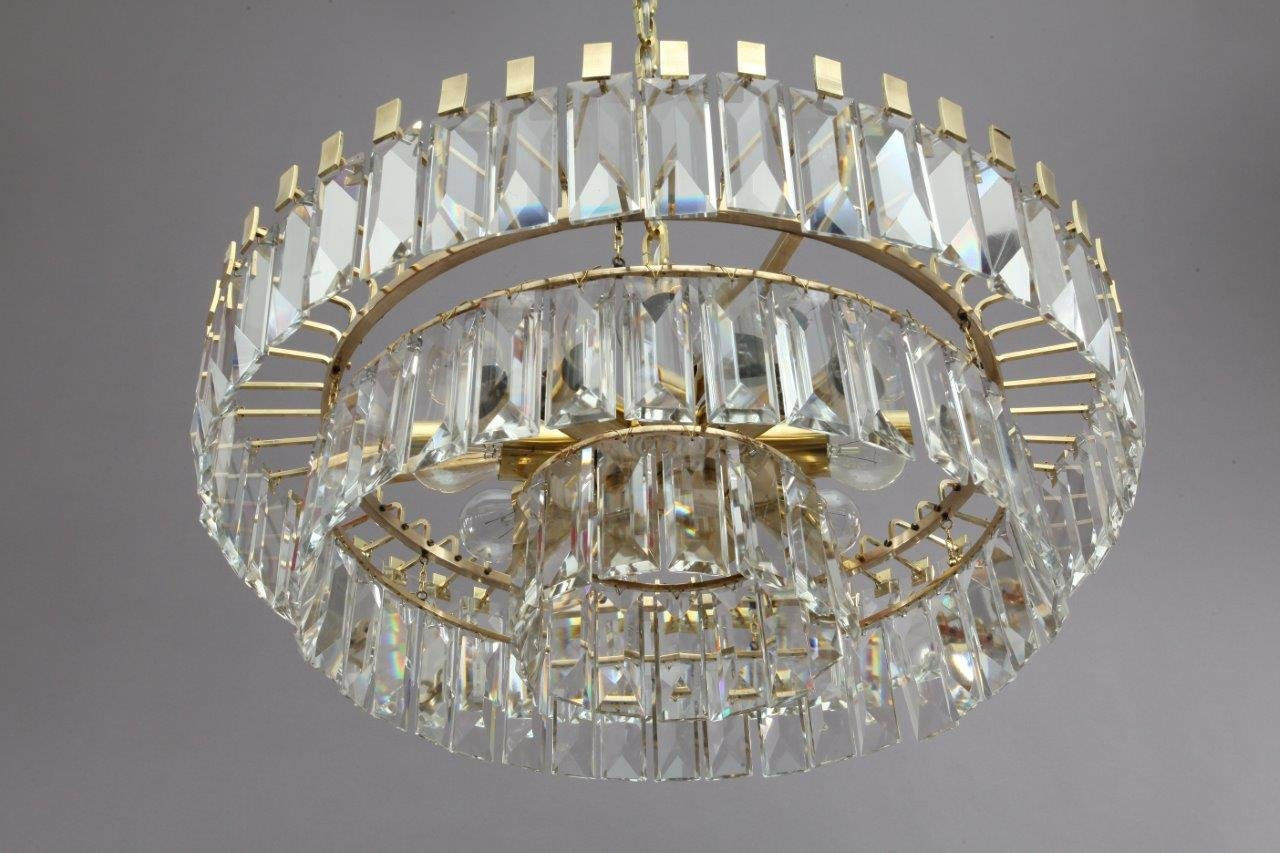 Viennese crystal glass chandelier from bakalowits shne 1960s for viennese crystal glass chandelier from bakalowits shne 1960s aloadofball Choice Image