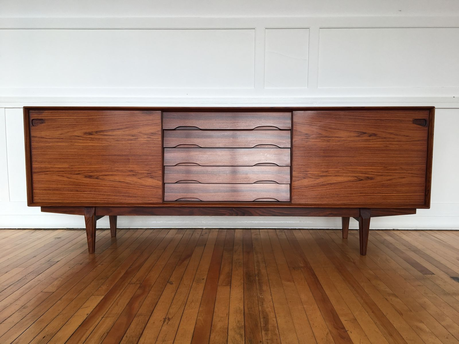 Mid Century Danish Credenza : Mid century danish rosewood credenza from skovby for sale at pamono