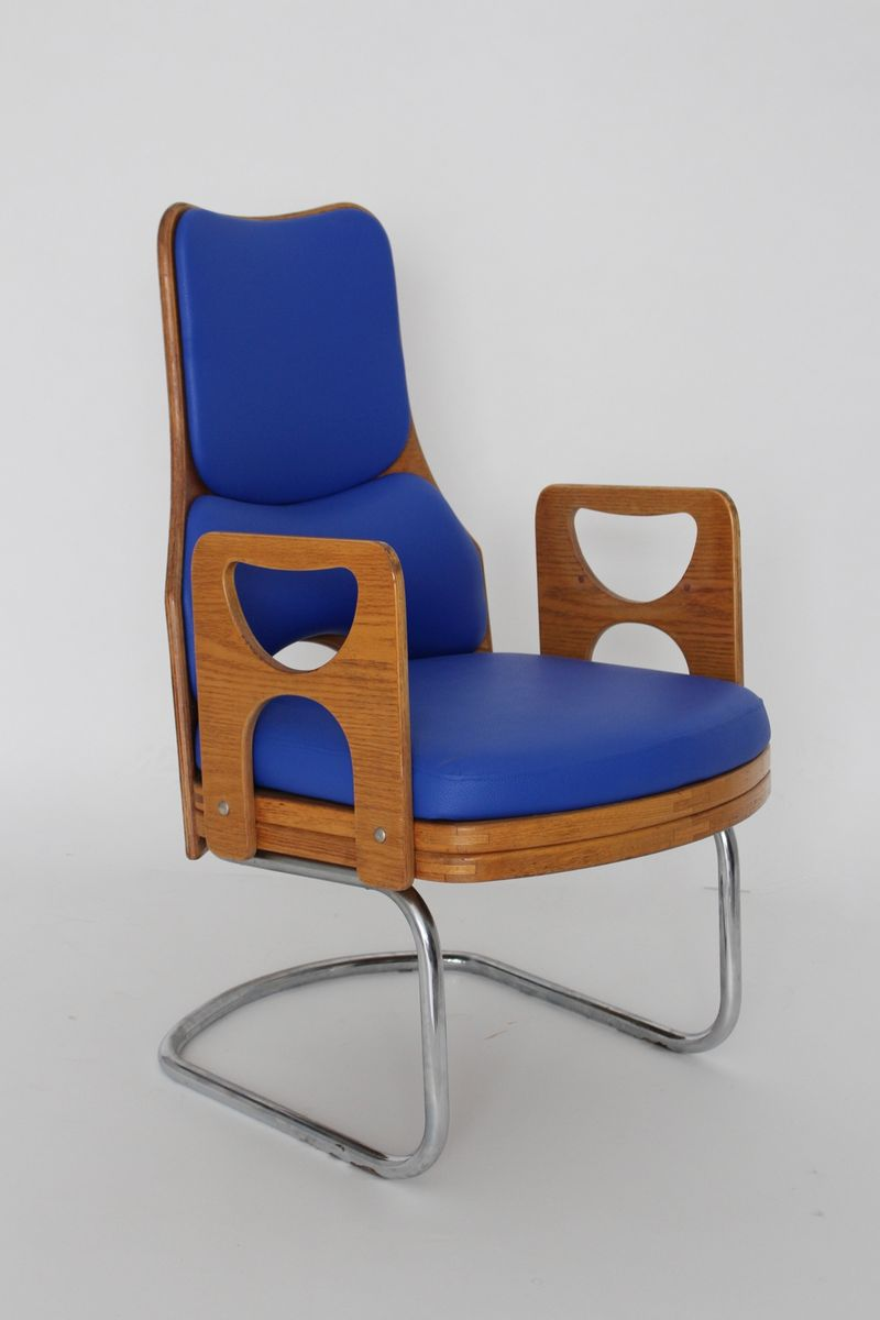 fauteuil scandinave en contreplaqu et ska 1960s en vente sur pamono. Black Bedroom Furniture Sets. Home Design Ideas