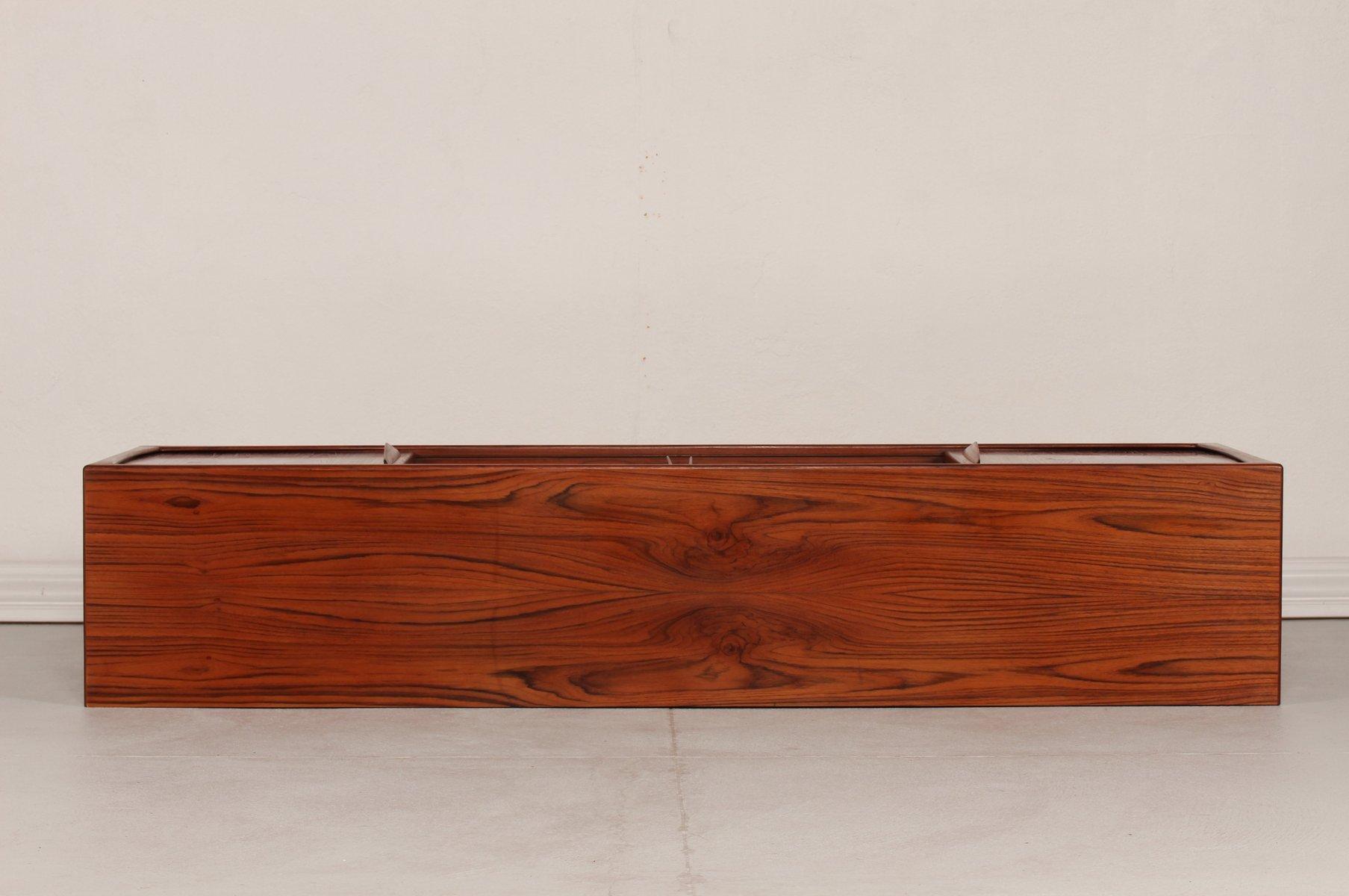 D nisches mid century teak sideboard mit 4 t ren 1950er for Sideboard 4 meter lang