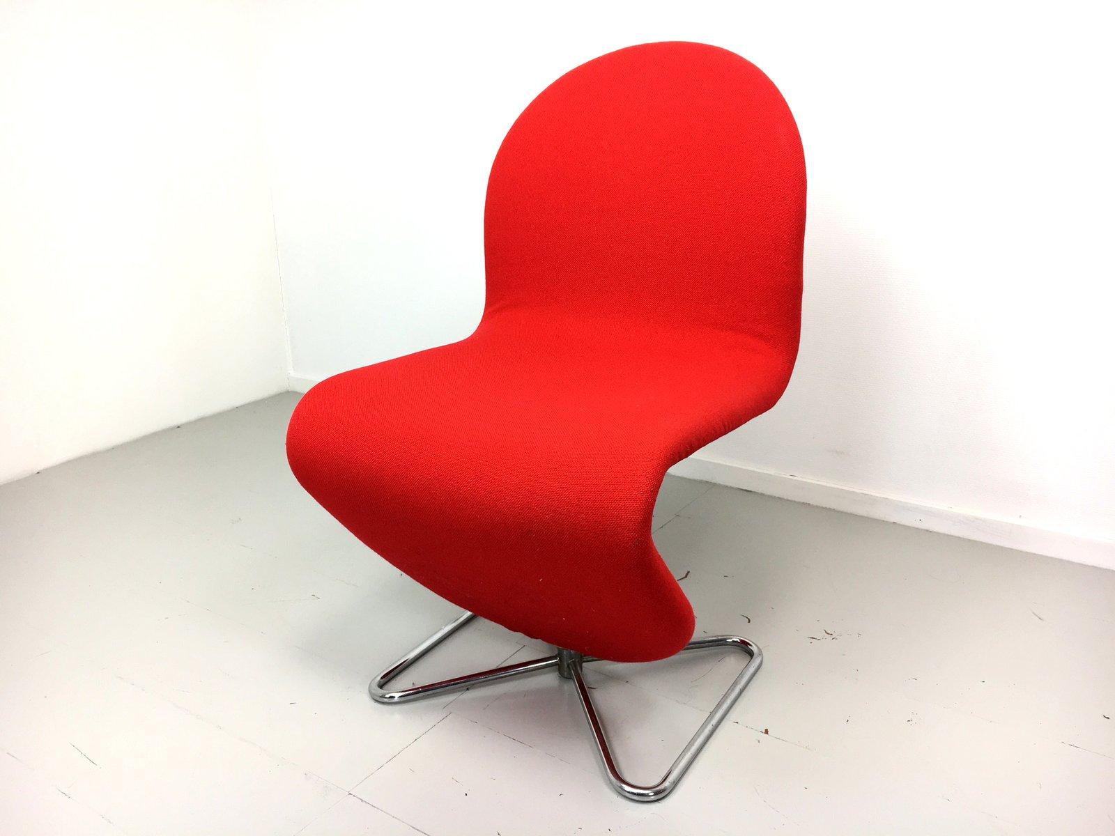 system 123 st hle von verner panton f r fritz hansen 1973 4er set bei pamono kaufen. Black Bedroom Furniture Sets. Home Design Ideas