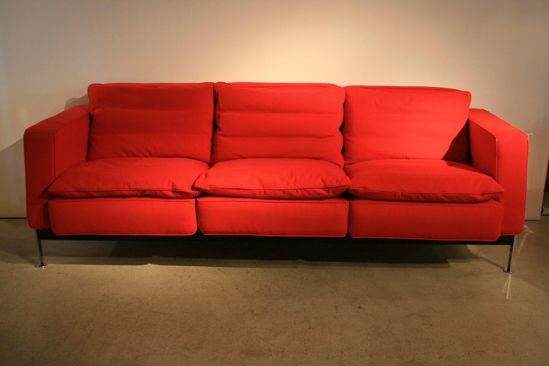 Canapé 3 Places et fauteuil par Trix & Robert Haussmann 1960s en