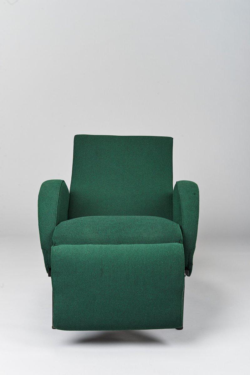 Italian Reclining Armchair By Nino Zoncada, 1950s
