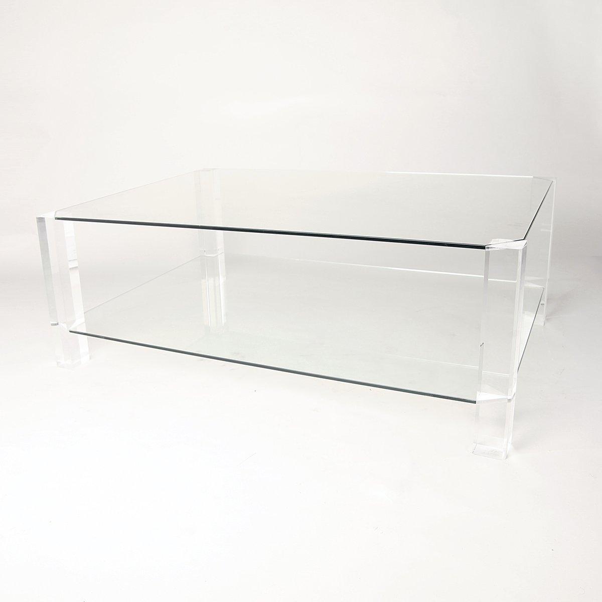 Glas plexiglas couchtisch von andrew sarah hills f r for Couchtisch plexiglas