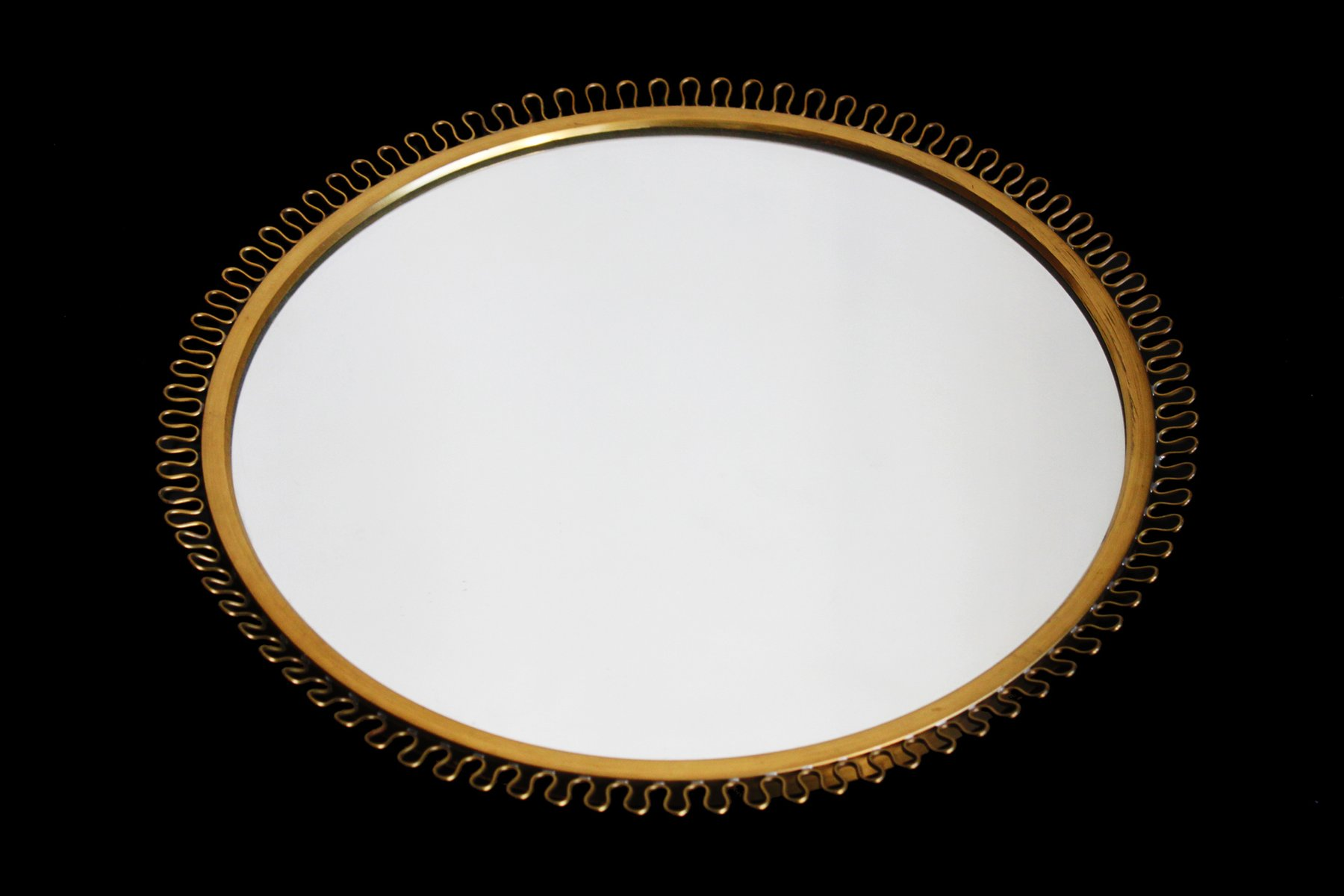 Miroir corona en laiton par josef frank en vente sur pamono for Miroir laiton