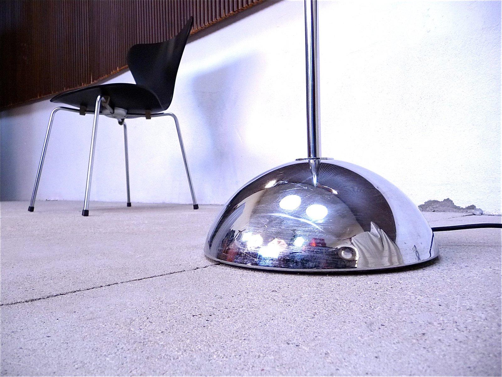 italienische verchromte bogen stehlampe 1960er bei pamono. Black Bedroom Furniture Sets. Home Design Ideas
