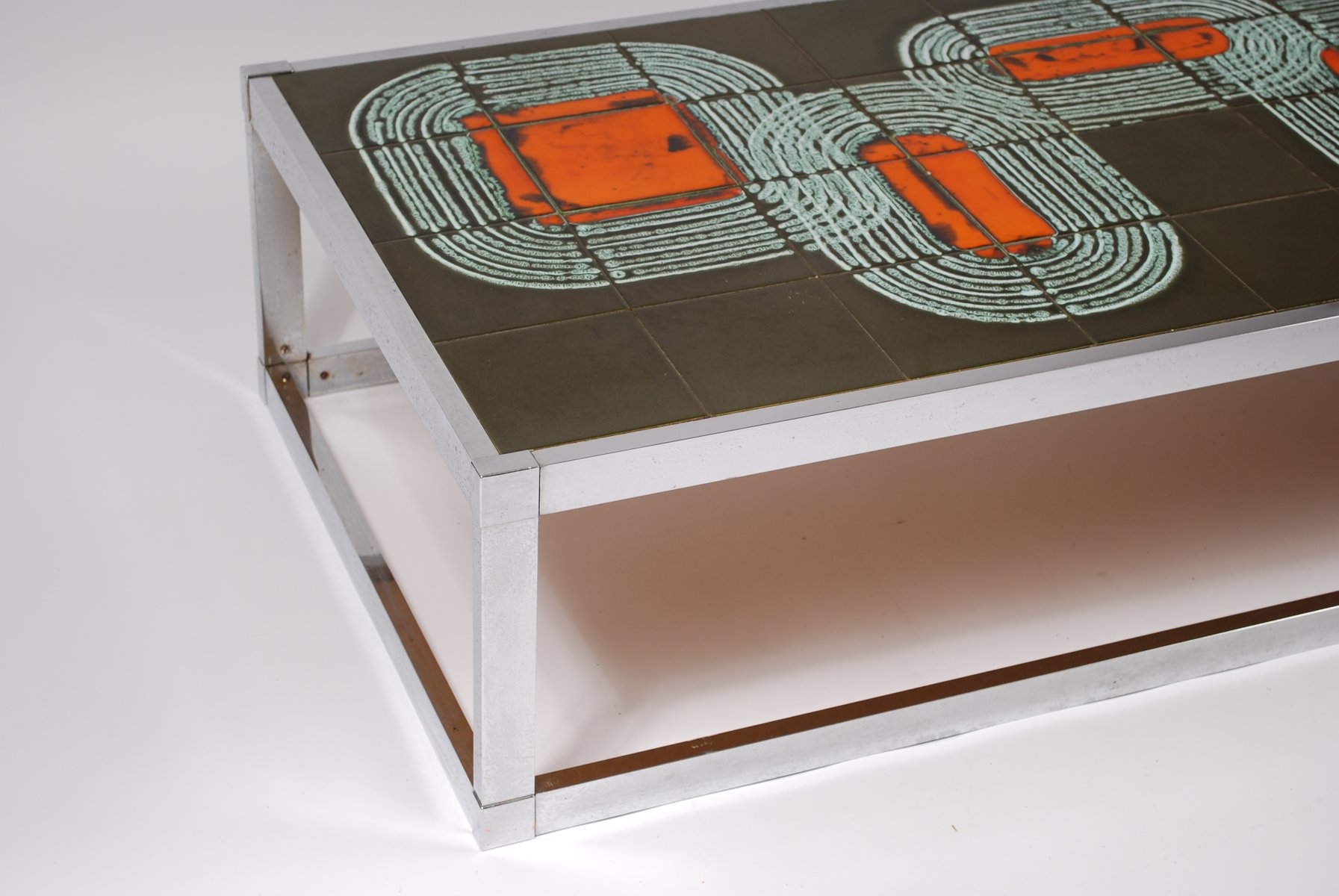Vintage Tile Coffee Table 1960 for sale at Pamono