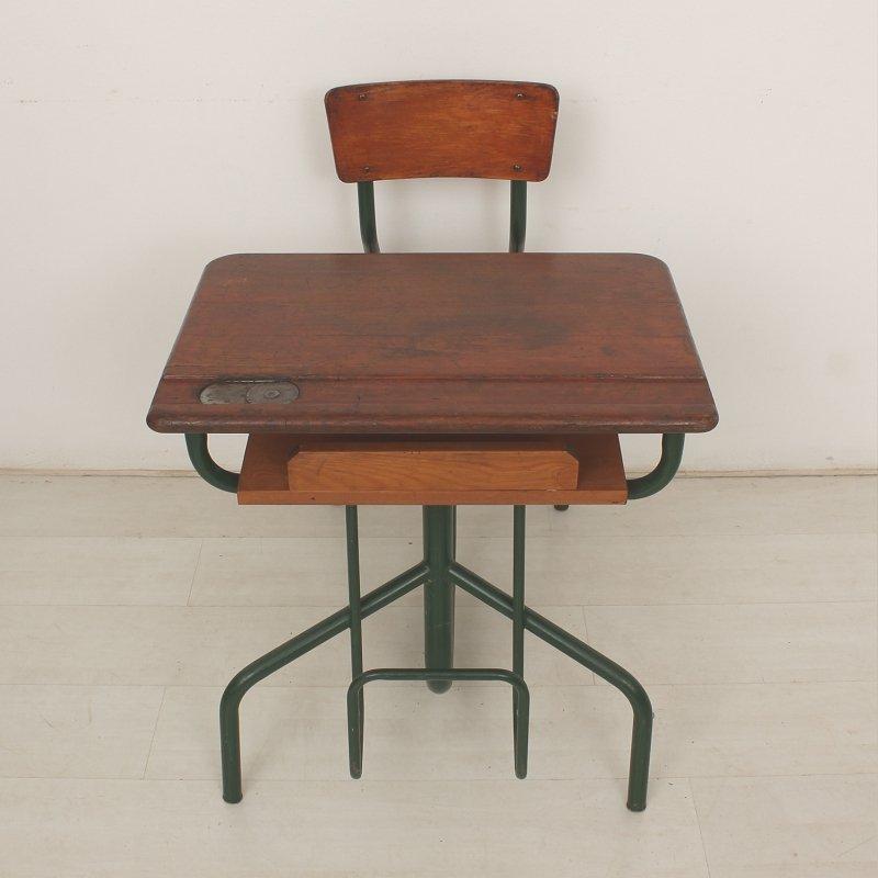 franz sischer mid century schreibtisch mit stuhl bei. Black Bedroom Furniture Sets. Home Design Ideas