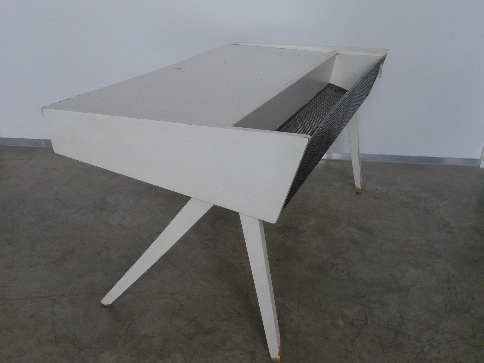 wei er vintage schreibtisch 1950er bei pamono kaufen. Black Bedroom Furniture Sets. Home Design Ideas