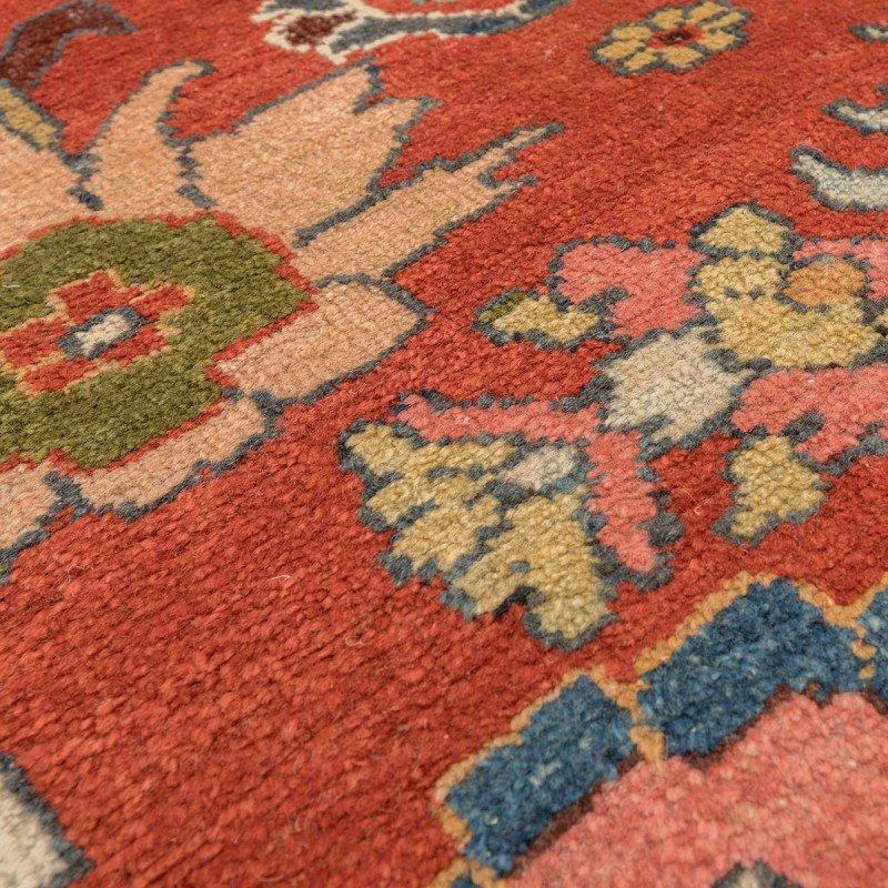 sultanabad teppich in rot blau gr n und gelb 19 jh von ziegler bei pamono kaufen. Black Bedroom Furniture Sets. Home Design Ideas