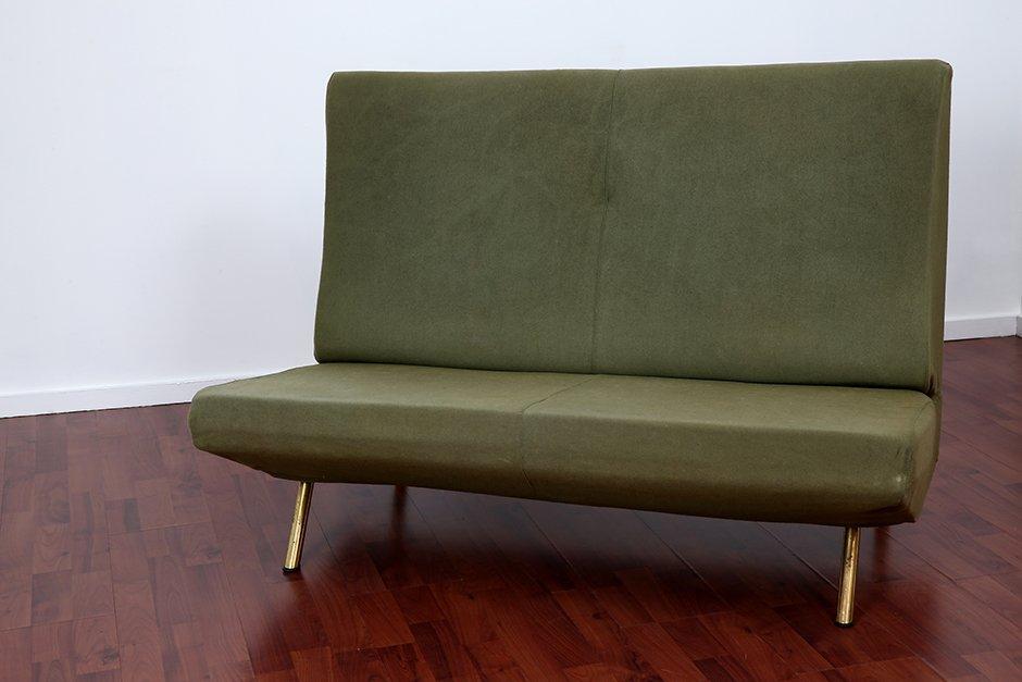xl triennale zwei sitzer sofa von marco zanuso f r arflex 1957 bei pamono kaufen. Black Bedroom Furniture Sets. Home Design Ideas