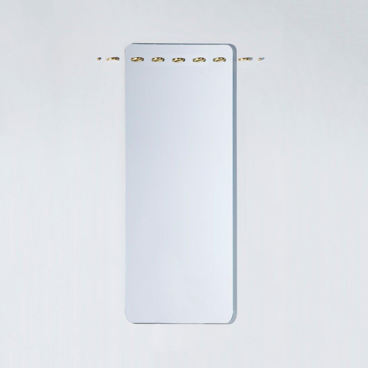 Specchio da parete sewn surfaces lungo di debra folz for Specchio lungo
