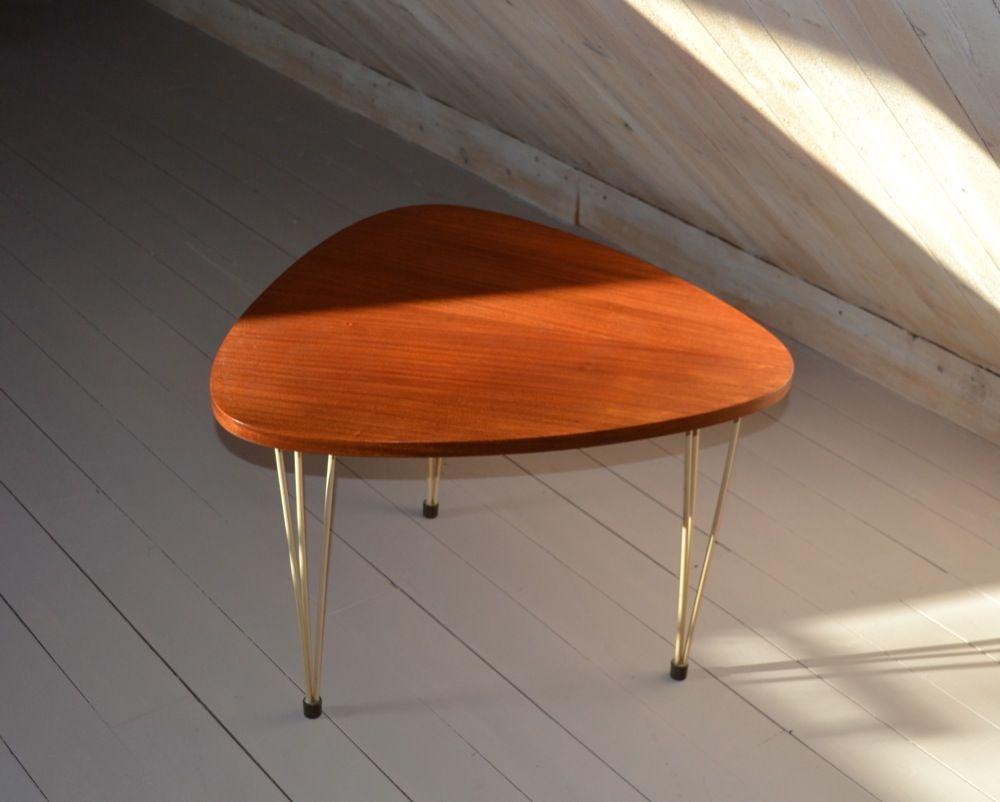 schwedischer mid century beistelltisch bei pamono kaufen. Black Bedroom Furniture Sets. Home Design Ideas