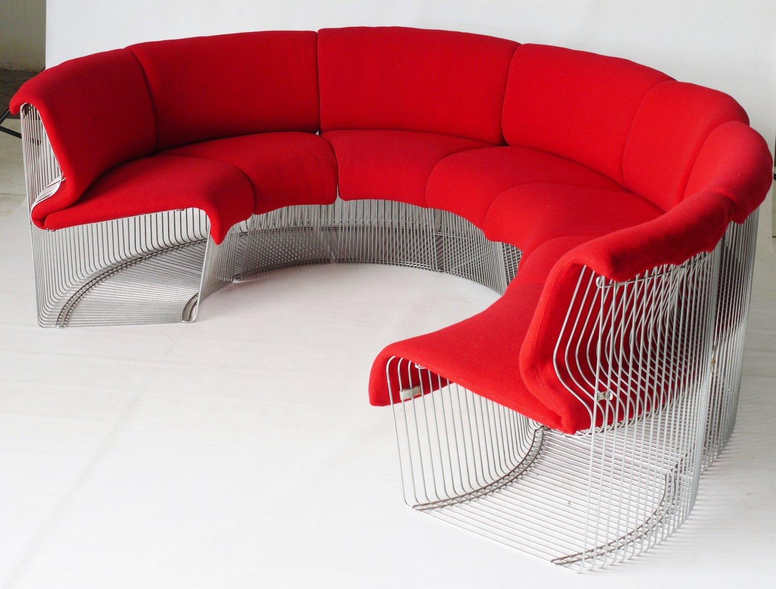 Pantonova sofa by verner panton for fritz hansen 1970s - Verner panton sedia ...