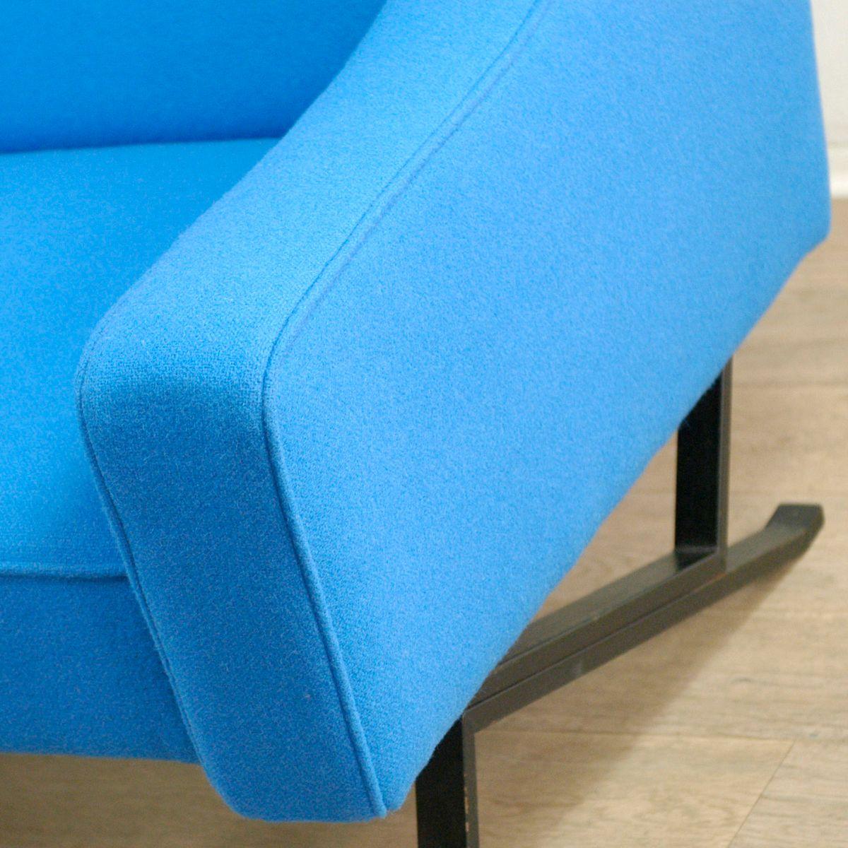italienischer sessel mit kvadrat stoff 1960er bei pamono kaufen. Black Bedroom Furniture Sets. Home Design Ideas