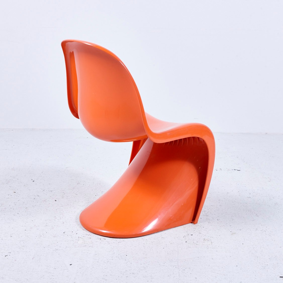 ... Orange Panton Chair By Verner Panton For Hermann Miller ...