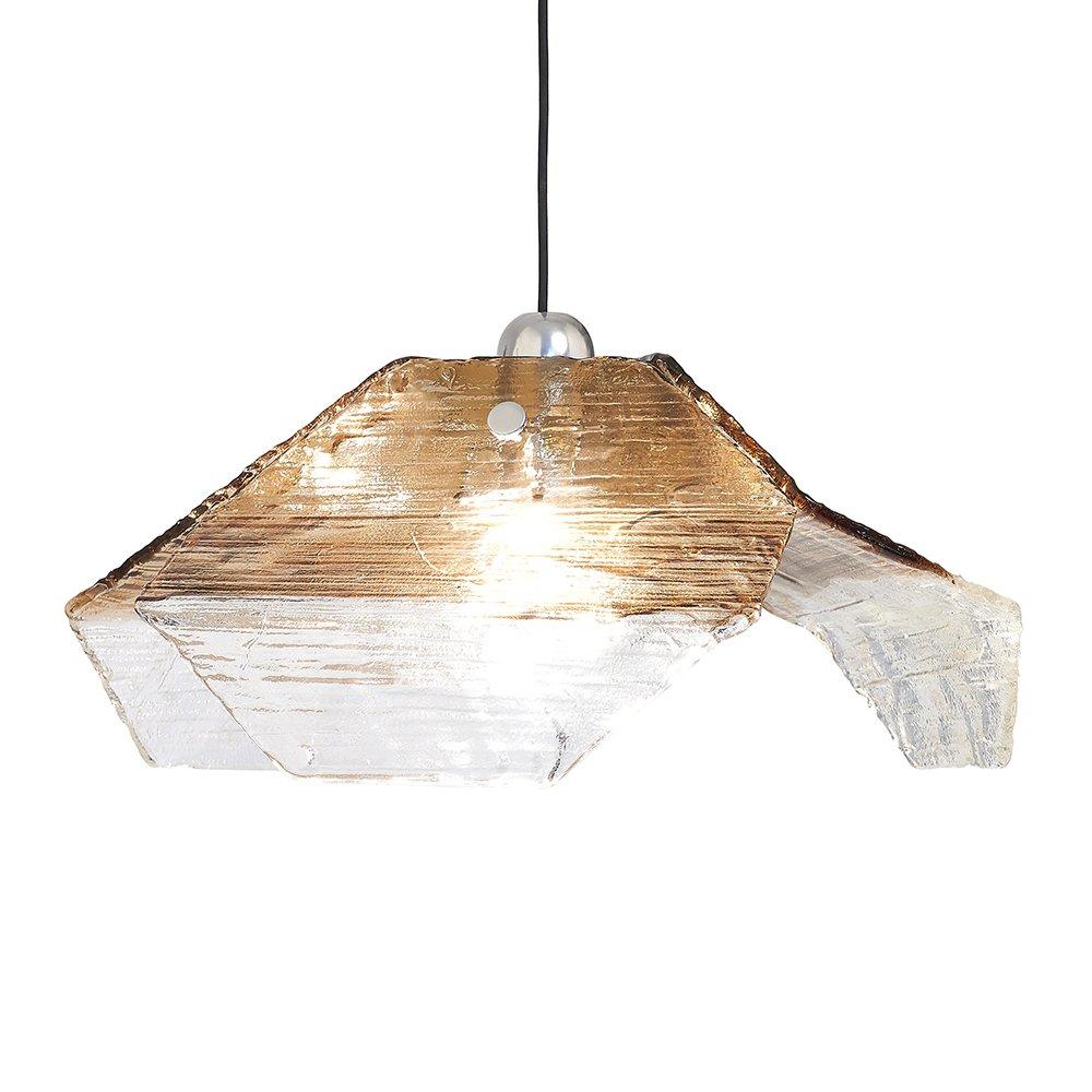 deckenlampe aus murano glas von kalmar 1970er bei pamono. Black Bedroom Furniture Sets. Home Design Ideas