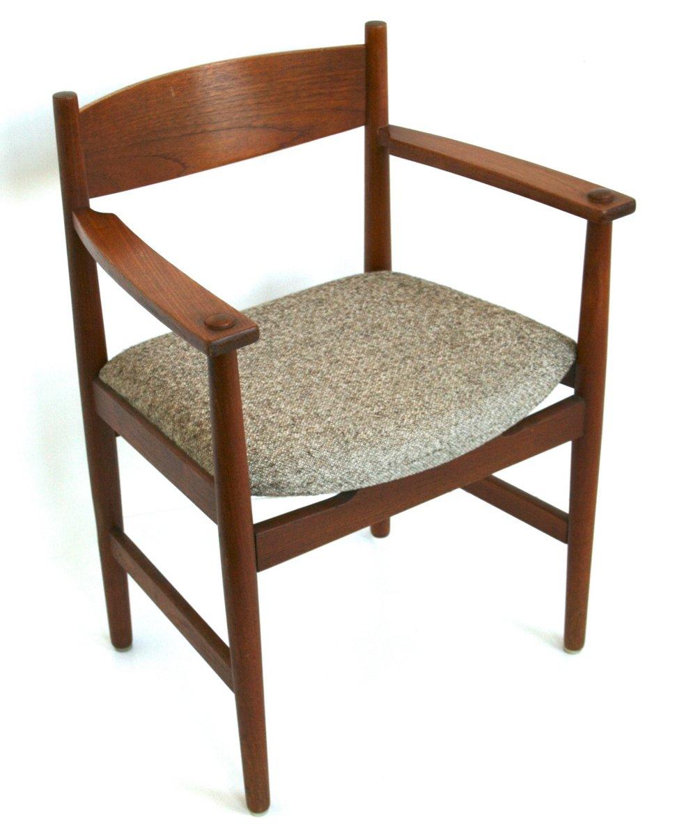 fauteuil ch39 par hans j wegner pour carl hansen en vente. Black Bedroom Furniture Sets. Home Design Ideas