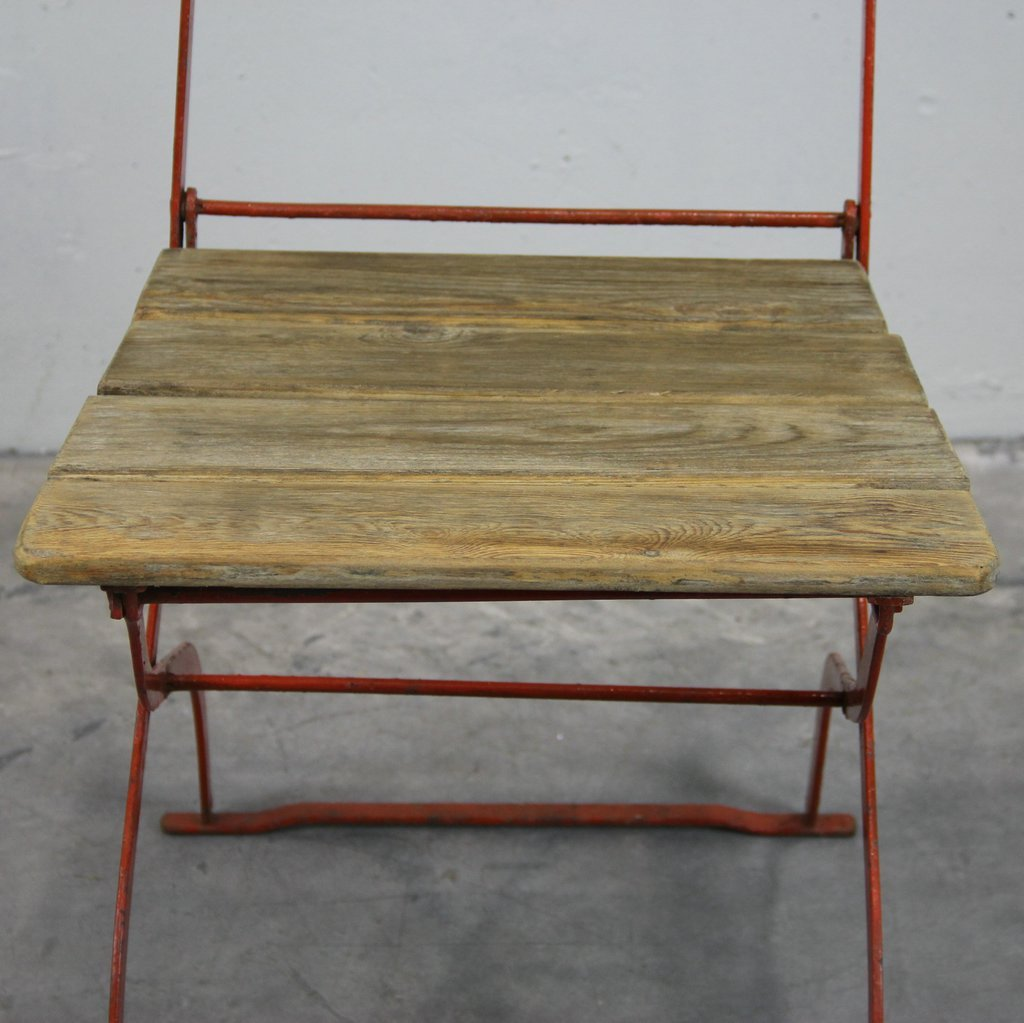 vintage outdoor st hle 1900er 4er set bei pamono kaufen. Black Bedroom Furniture Sets. Home Design Ideas